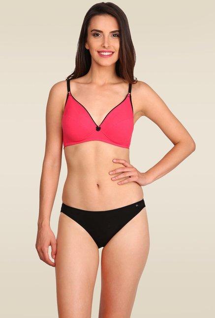 dc0386d2b Buy Jockey Black Bikini Bottom - SS02 for Women Online   Tata CLiQ