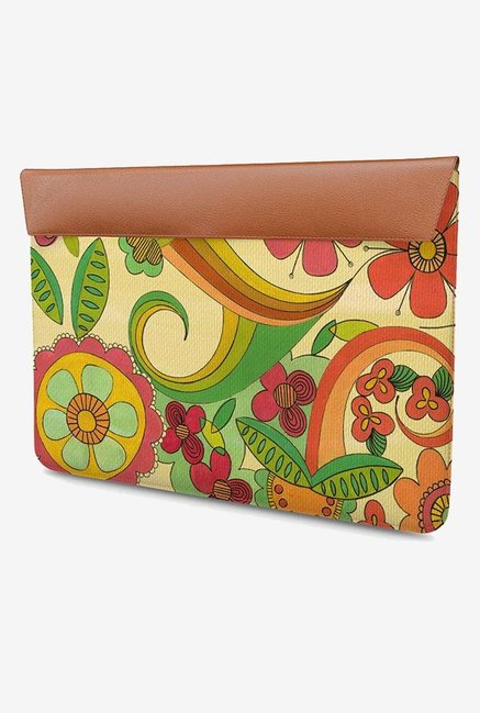 DailyObjects Magic Floral MacBook Pro 15 Envelope Sleeve