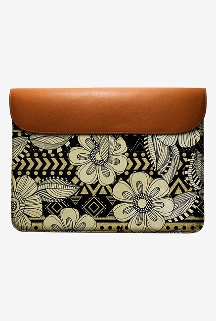 DailyObjects Floral Ink MacBook Pro 13 Envelope Sleeve