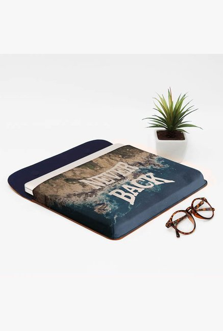DailyObjects Never Look Back MacBook Pro 15 Envelope Sleeve