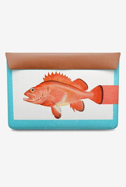 DailyObjects Orange Fish MacBook Pro 13 Envelope Sleeve