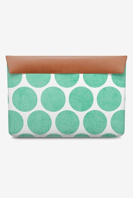DailyObjects Mint Polka Dots MacBook Pro 13 Envelope Sleeve
