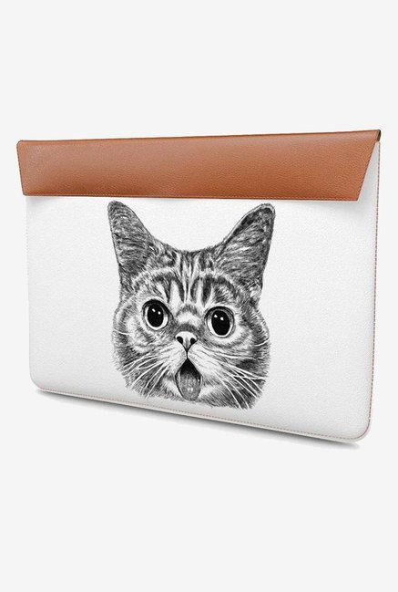 DailyObjects Shocked Cat MacBook Pro 13 Envelope Sleeve
