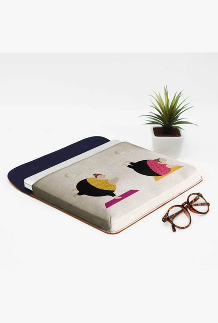 DailyObjects Yoga Girls MacBook Pro 13 Envelope Sleeve