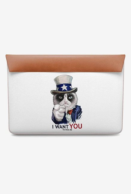 DailyObjects Uncle Sam Cat MacBook Air 13 Envelope Sleeve