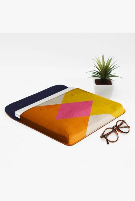 DailyObjects Triangle Summer MacBook Pro 13 Envelope Sleeve