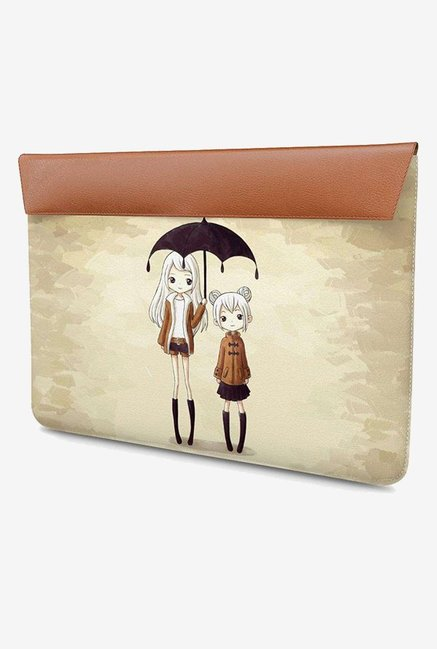 DailyObjects Sunshine Sisters MacBook Pro 15 Envelope Sleeve