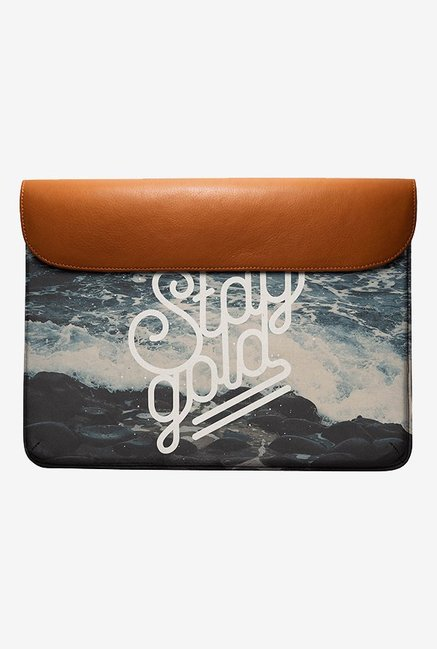 DailyObjects Stay Gold MacBook Air 13 Envelope Sleeve
