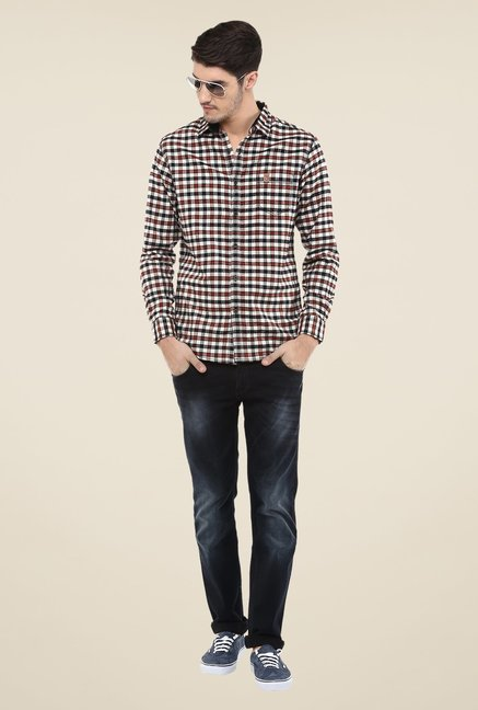 Mufti Multicolor Checks Shirt