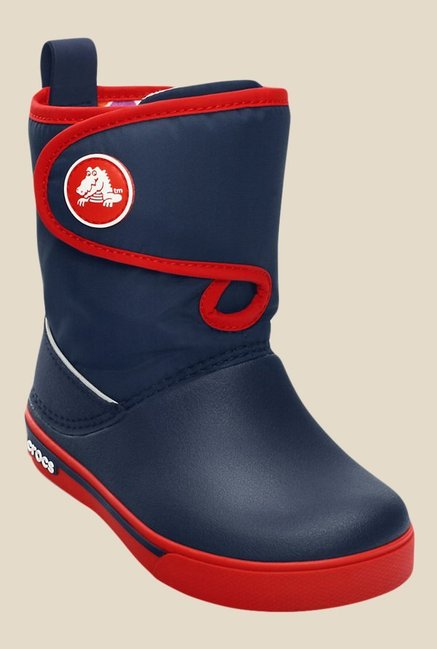 Crocs Crocband II.5 Navy & Red Casual Boots