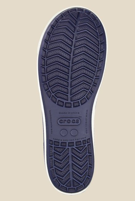 Crocs Crocband Airy Nautical Navy Sling Back Sandals