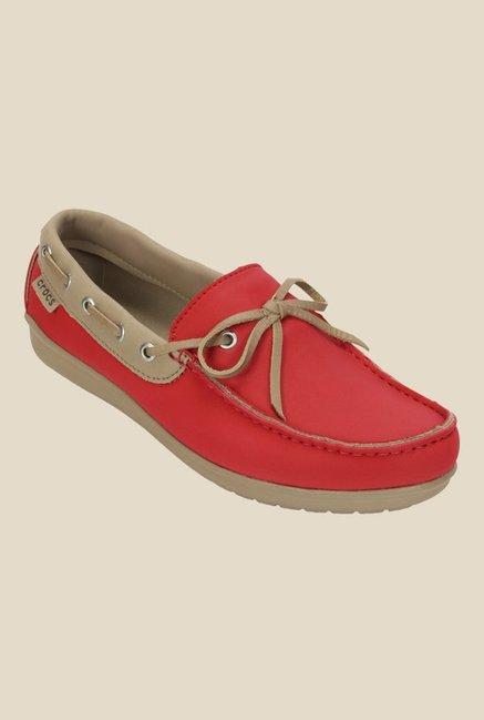 5039176fa Buy Crocs Wrap ColorLite Pepper   Tumbleweed Boat Shoes For Women Online At  Tata CLiQ