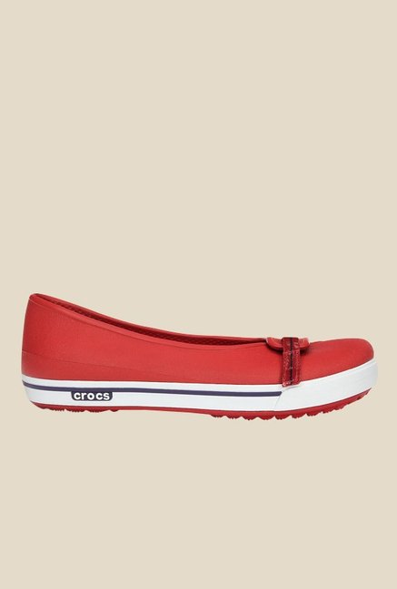 Crocs Crocband 2.5 Dark Red & Mulberry Flat Ballets