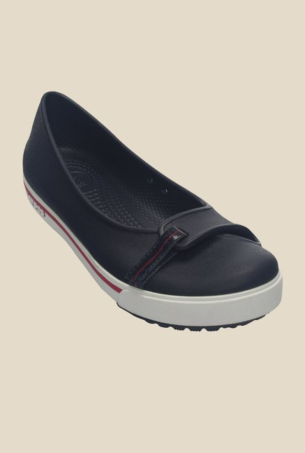 bf00c5348 Buy Crocs Crocband 2.5 Navy   Raspberry Flat Ballets For Women Online At  Tata CLiQ