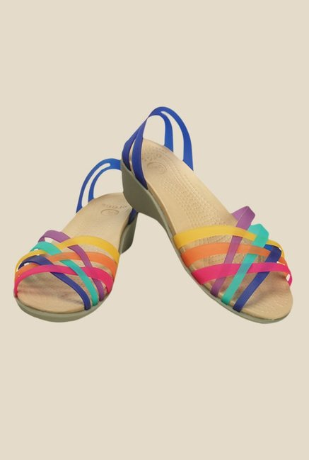 Crocs Huarache Multicoloured Casual Sandals