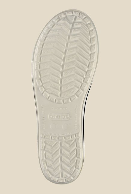 Crocs Crocband 2.5 White & Navy Flat Ballets