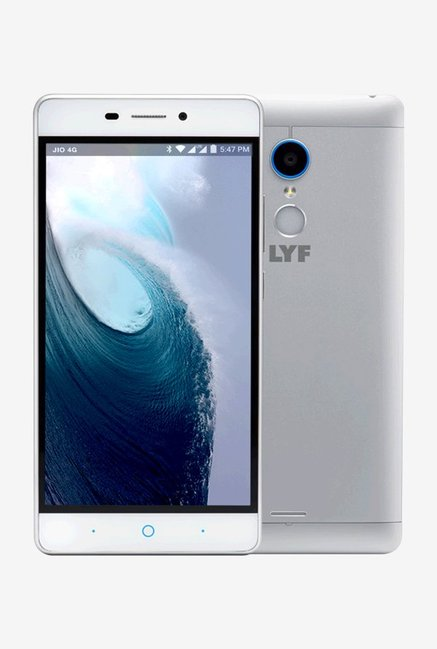 RELIANCE Jio LYF Water 7 Dual Sim 16 GB (Silver)