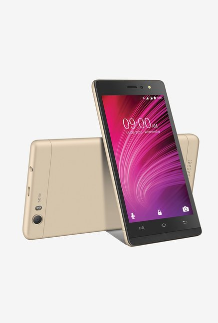 Lava A97 4G Dual Sim 8 GB (Black/Gold)
