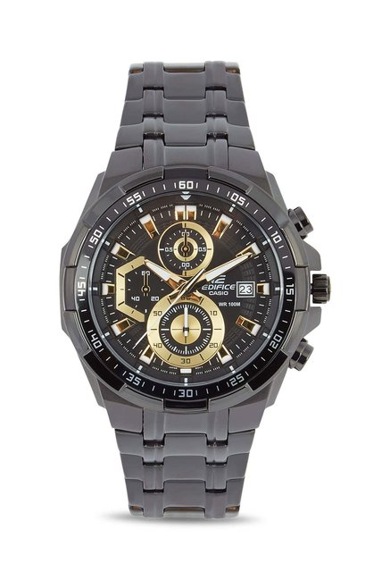 Buy Casio EFR-539BK-1AVUDF Edifice Analog Watch for Men for Men at Best  Price   Tata CLiQ d453b42a4