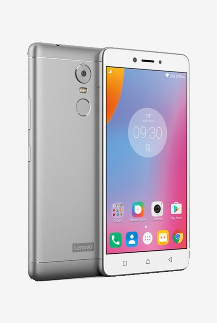 763deadd1 Buy Lenovo K6 Note 4G Dual Sim 32 GB (Silver) Online at best price at  TataCLiQ
