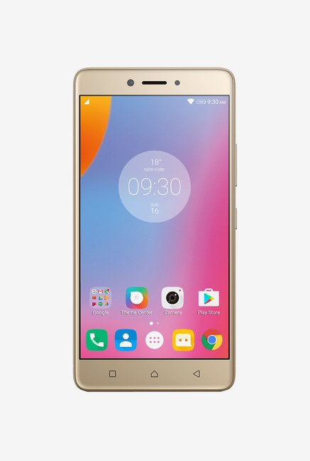 b7fc0ee42 Buy Lenovo K6 Note 4G Dual Sim 32 GB (Gold) Online at best price at TataCLiQ