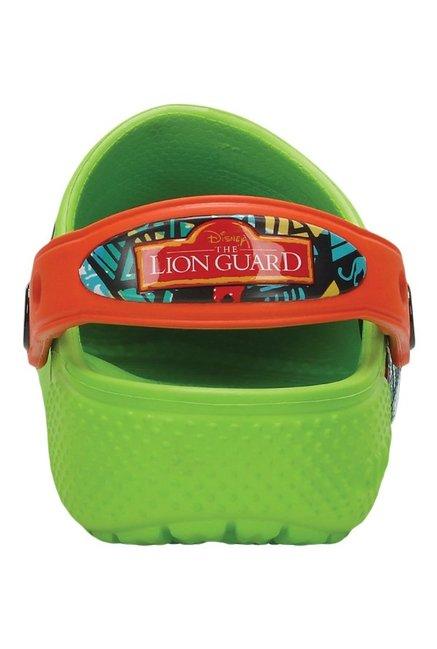 crocs Kids Crocsfunlab Lion Guard Clog