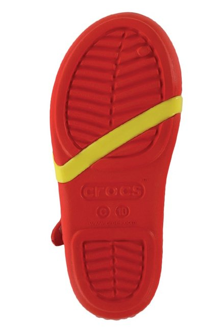 8cab2acbe9c55f Buy Crocs Kids Lina Minnie Red Ankle Strap Sandals for Girls at Best ...
