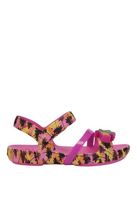 19e77bd8b55b Buy Crocs Kids Lina Lights Party Pink Ankle Strap Sandals for Girls ...