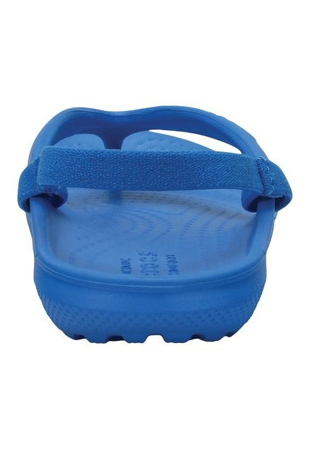3bc2c916147a Buy Crocs Kids Classic Ocean Blue Back Strap Flip Flops for Boys at ...