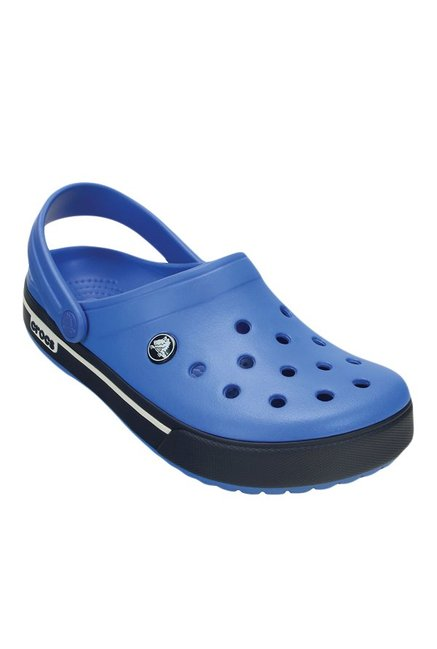 c2c2e2965a78 Buy Crocs Crocband II.5 Varsity Blue   Navy Clogs for Men at Best Price    Tata CLiQ