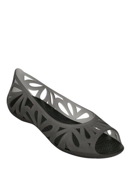 412190df8 Buy Crocs Adrina III Black Peeptoes for Women at Best Price   Tata CLiQ