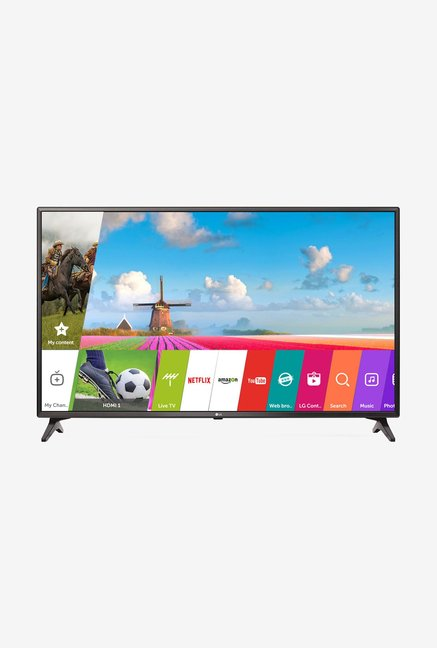 LG 43LJ554T 108 cm (43 inches) Full HD Smart LED TV (Black)