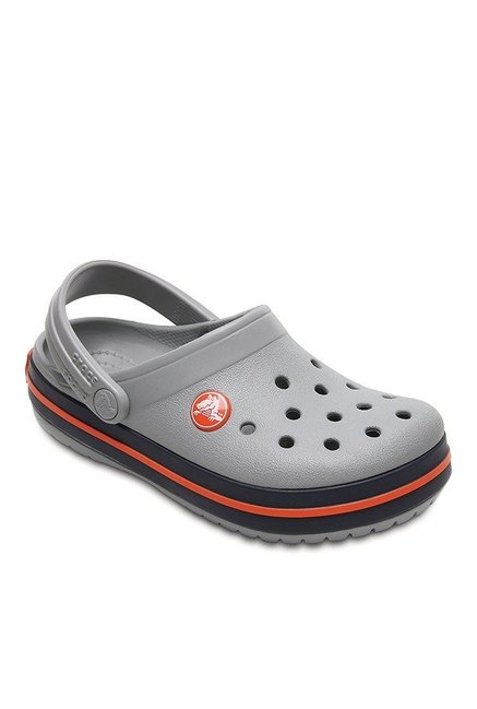 Buy Crocs Kids Crocband Light Grey