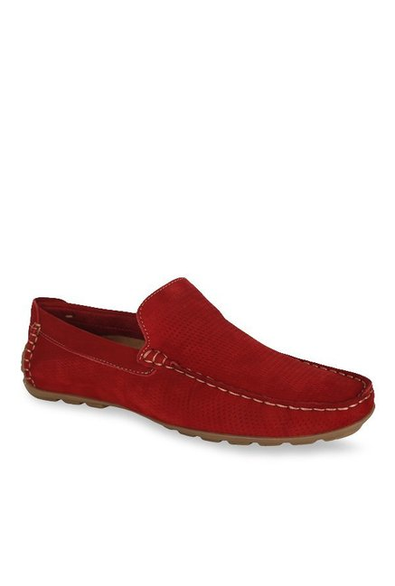 Steve Madden Diamand Red Loafers