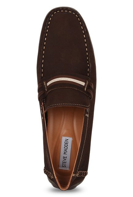 Steve Madden Zeplynn Brown Loafers