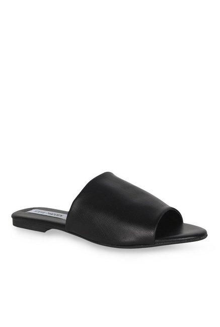 f901019ecb8 Buy Steve Madden Slidur Black Casual Sandals for Women at Best Price ...