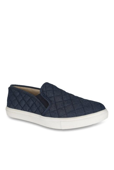 a6c60733388 Buy Steve Madden Ecentrcq Navy Plimsolls for Women at Best Price ...