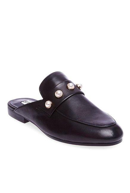 06271716f7c Buy Steve Madden Kandi Black Mule Shoes for Women at Best Price @ Tata CLiQ