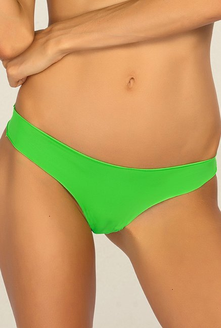 e7cf3eb9240 Buy Candyskin Green Thong Panty for Women Online   Tata CLiQ