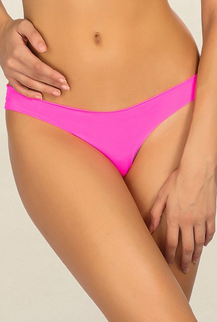 1006e25ed52 Buy Candyskin Pink Thong Panty for Women Online   Tata CLiQ