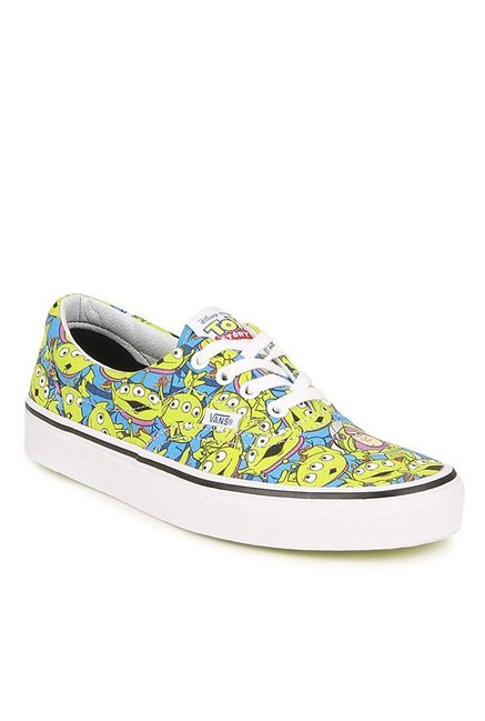 6495bbd49a Buy Vans Era Toy Story Aliens Green   Blue Sneakers for Women at ...
