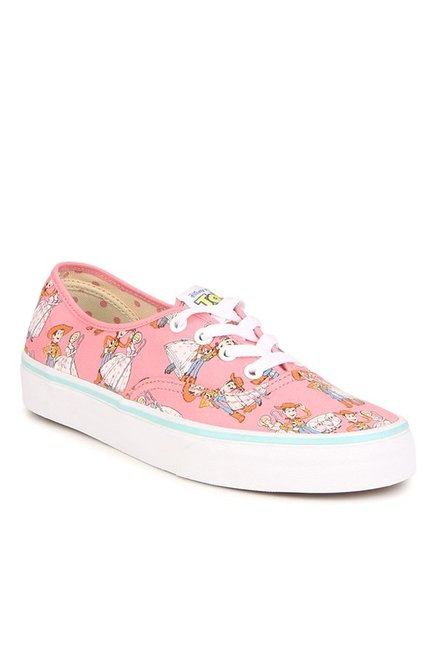 Buy Vans Authentic Toy Story Woody   Bo Peep Pink Sneakers for ... cfa3519ee