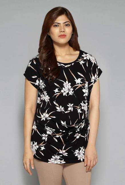 ee979ccfc Buy Gia by Westside Black Donna Top for Women Online   Tata CLiQ