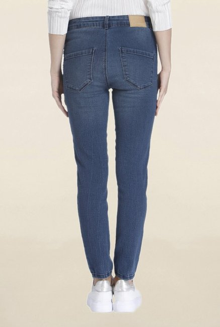 Vero Moda Dark Blue Rinse Washed Jeans