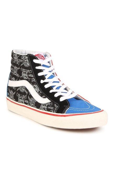 Buy Vans SK8-Hi 38 50th STV Blue   Off-White Sneakers for Women at Best  Price   Tata CLiQ 205688bda
