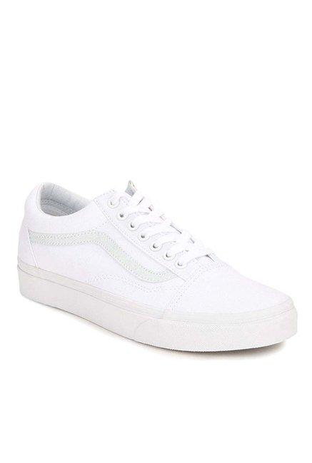 4c29e6c6ad5 Buy Vans Classics Old Skool True White Sneakers for Men at Best ...