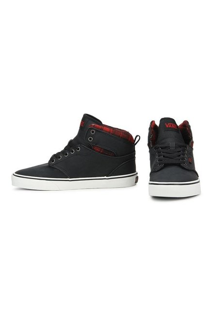 Buy Vans Active Atwood Hi Black Ankle High Sneakers for Men at Best ... 1a2573d0f