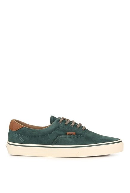 fab6649063217c Buy Vans Classics Era 59 Dx Green Gables   White Sneakers for Men at ...