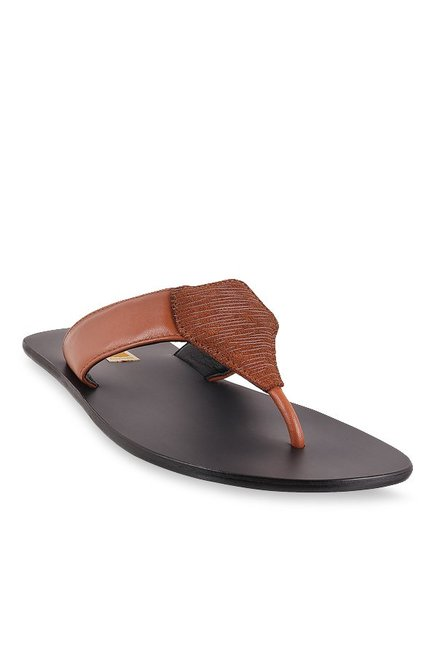 ce3a631518019 Buy Signature by Metro Tan Thong Sandals for Men at Best Price ...