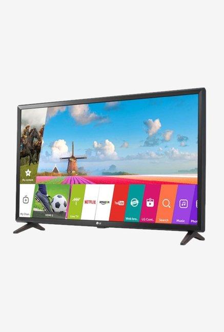 buy lg 32lj618u 80 cm 32 hd led smart tv black online at best price tata cliq. Black Bedroom Furniture Sets. Home Design Ideas